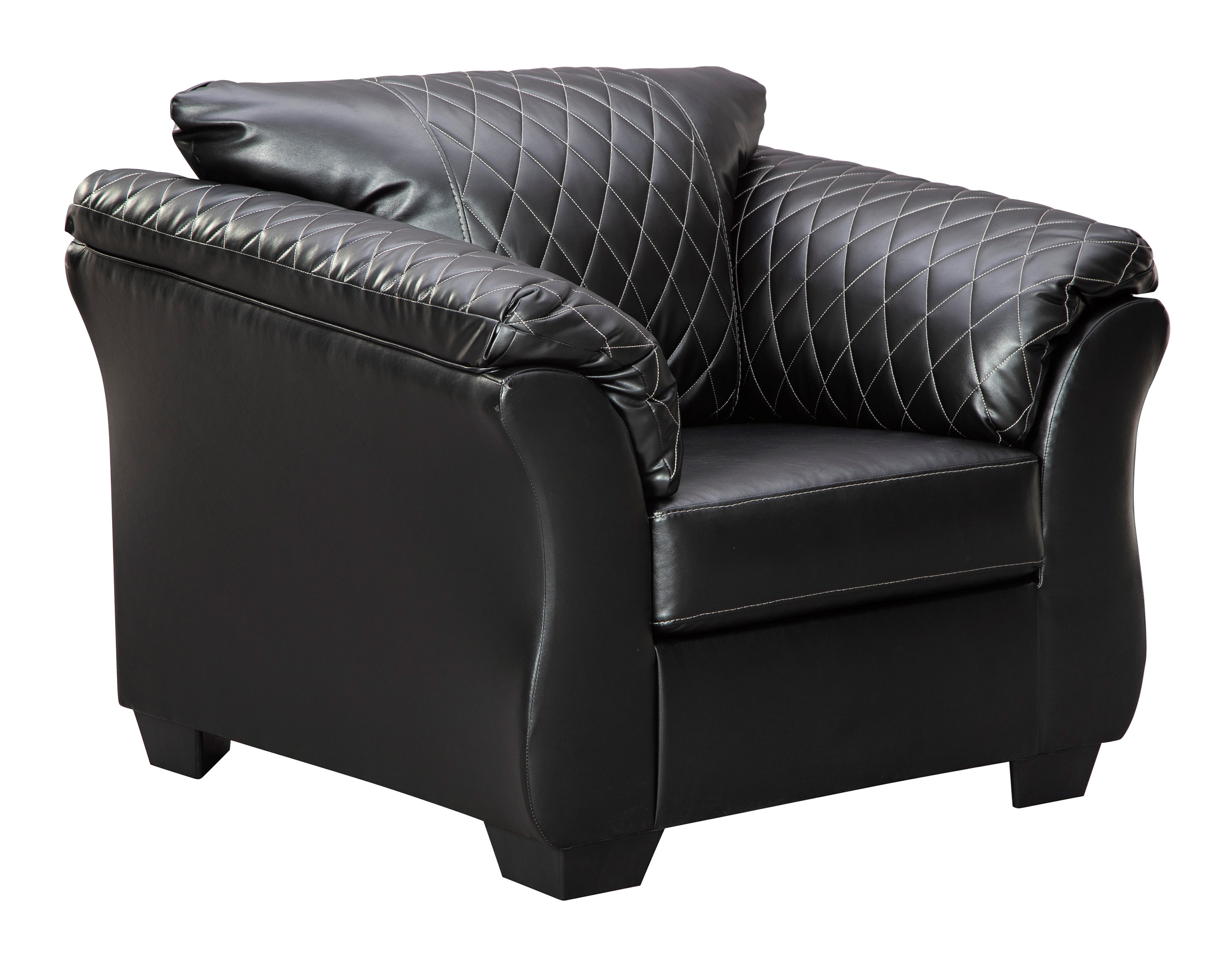 Contemporary Chair with Padded Arms