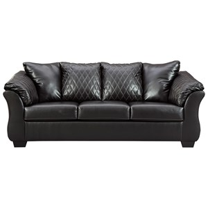 Contemporary Sofa with Padded Arms