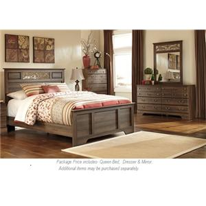 Signature Design by Ashley Allymore 3PC Queen Bedroom