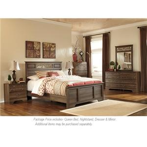 Signature Design by Ashley Allymore 4 Pc Qn Bedroom Group
