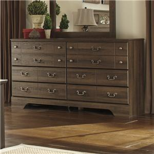 Signature Design by Ashley Allymore 6 Drawer Dresser