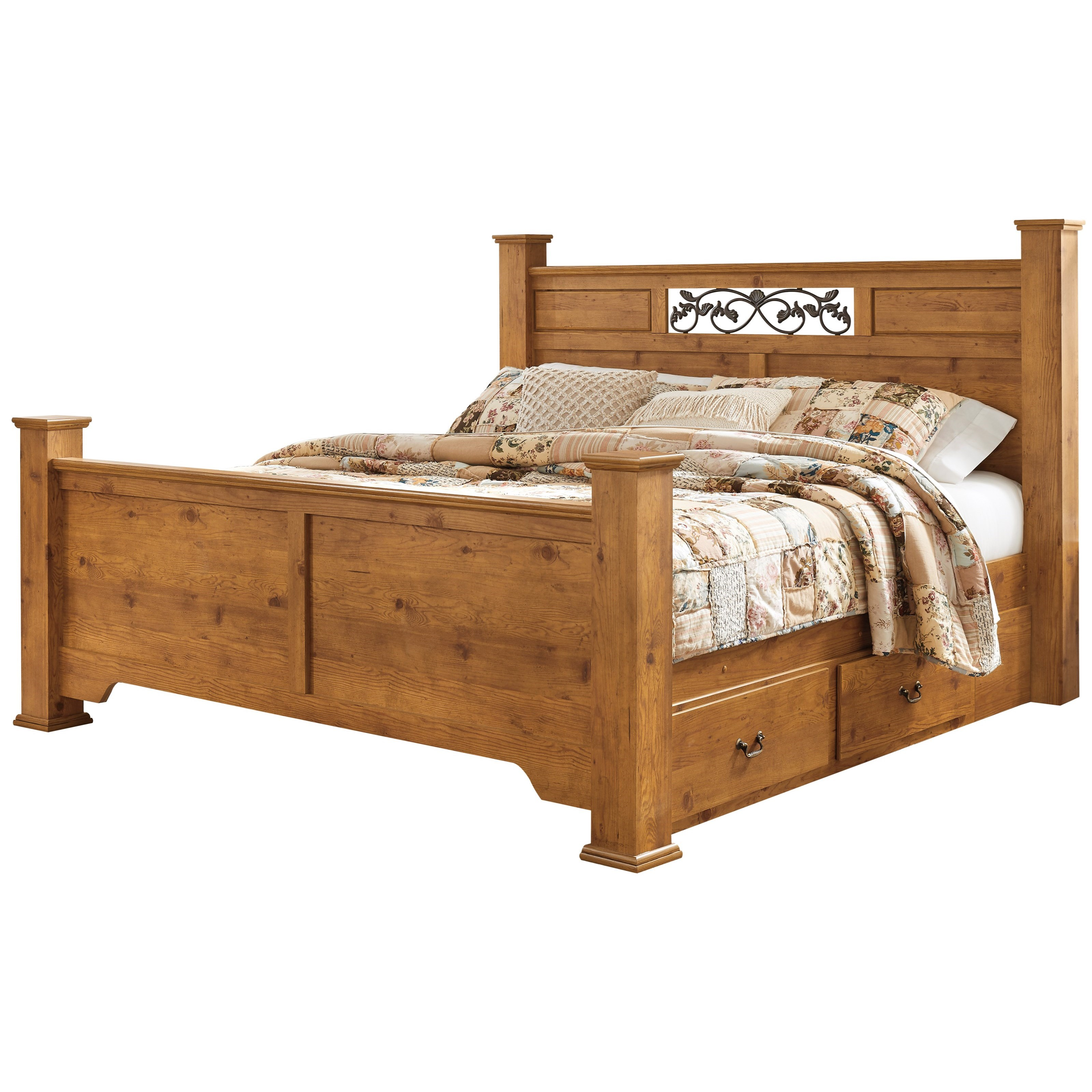 Bittersweet King Poster Bed Dimensions