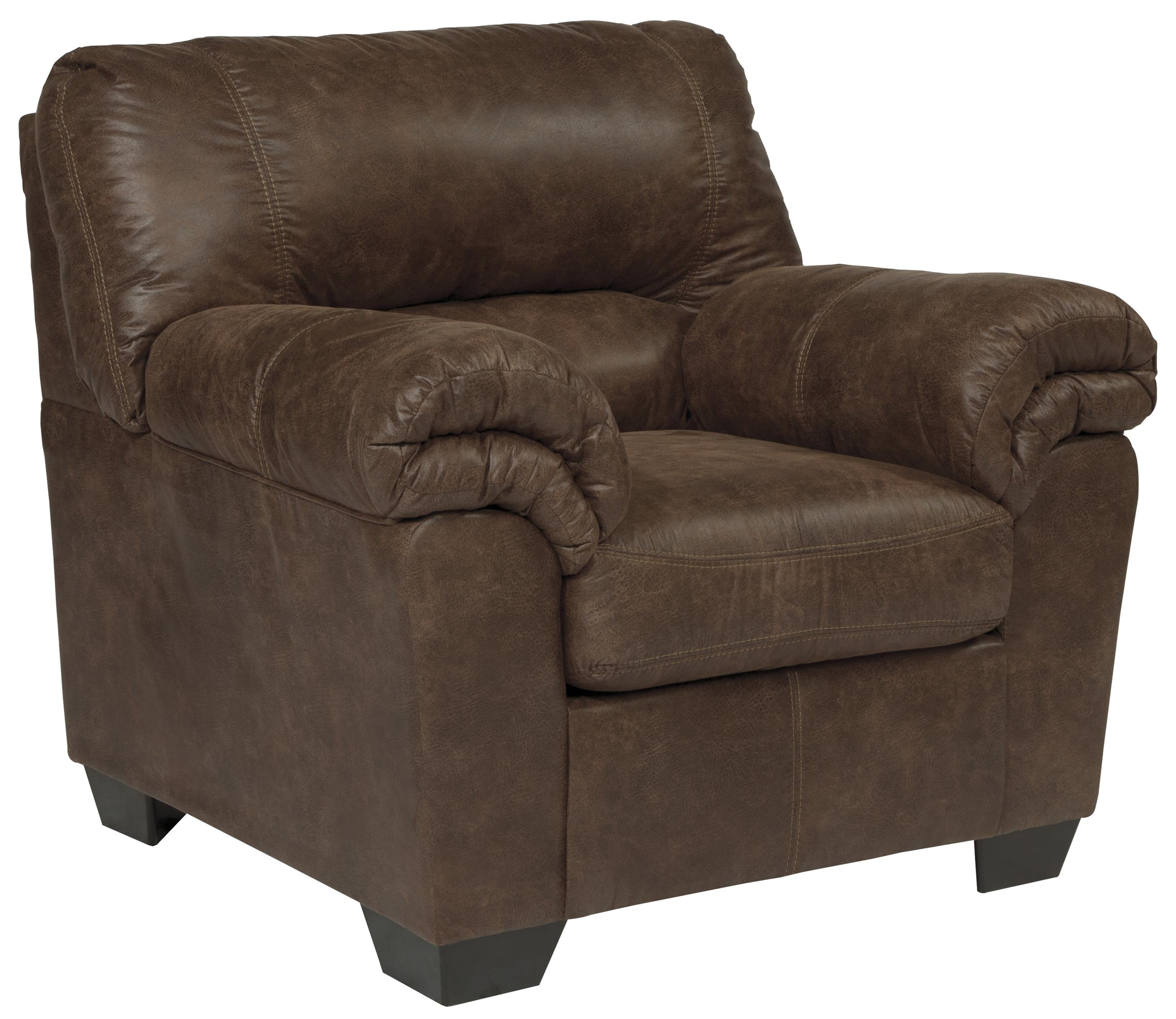 Casual Faux Leather Chair By Signature Design By Ashley