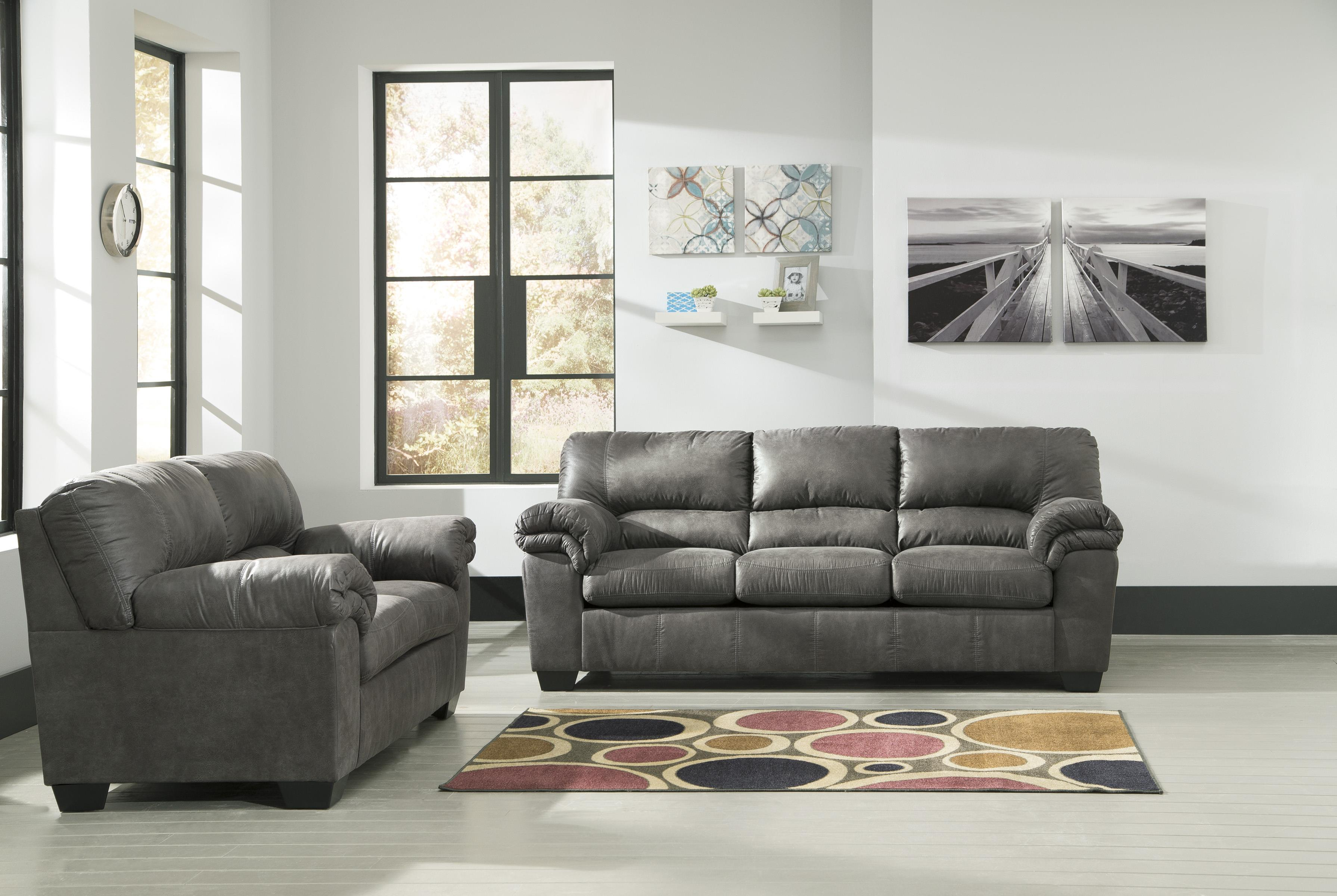 Casual Faux Leather Loveseat By Signature Design By Ashley Wolf And Gardiner Wolf Furniture
