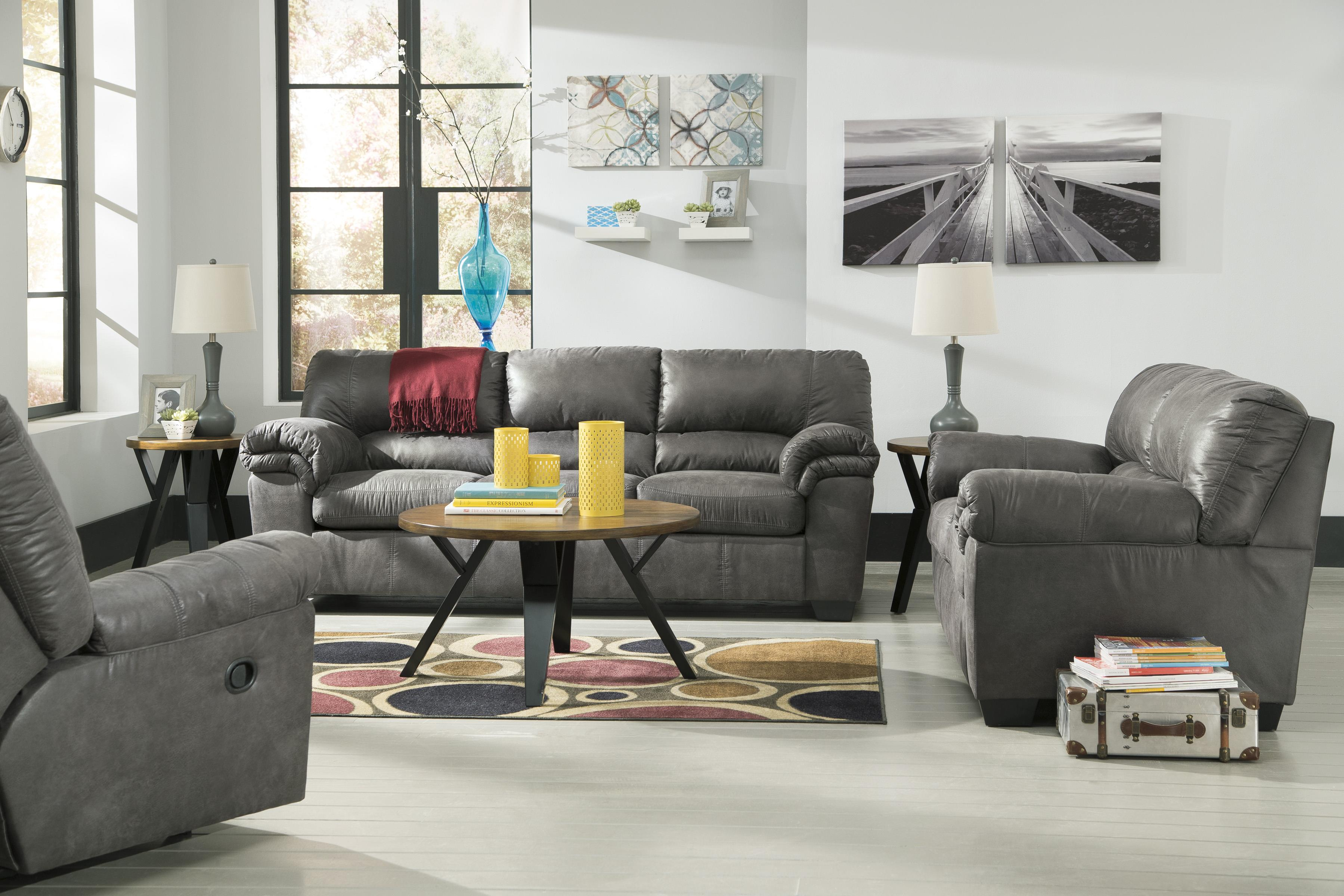 Casual Faux Leather Full Sofa Sleeper by Signature Design by