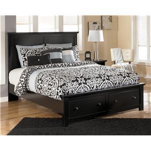 Signature Design by Ashley Furniture Maribel Queen Storage Bed