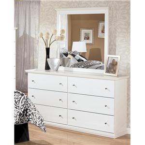 Signature Design by Ashley Bostwick Shoals Dresser & Mirror