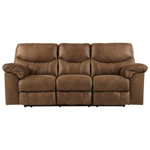 Casual Reclining Power Sofa