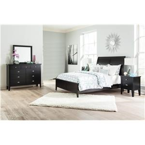 Signature Design by Ashley Braflin Queen Bed, Dresser, Mirror and Nightstand