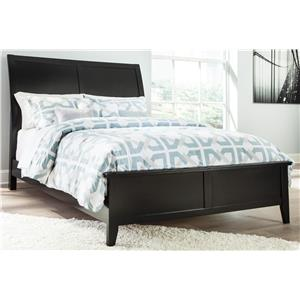 Signature Design by Ashley Braflin Queen Bed with Sleigh Headboard
