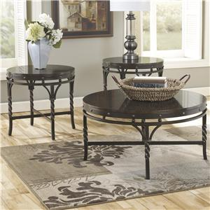 Signature Design by Ashley Brindleton Occasional Table Set