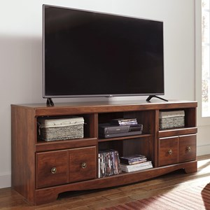 Cherry Finish Large TV Stand