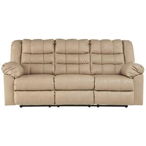 Signature Design By Ashley Brolayne Durablend Reclining Sofa