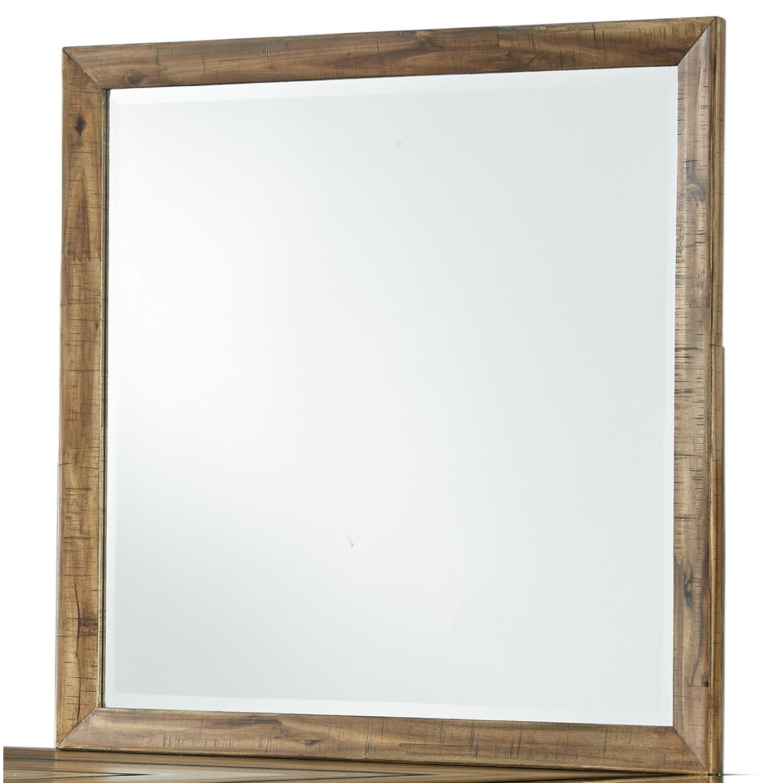 Square Bedroom Mirror