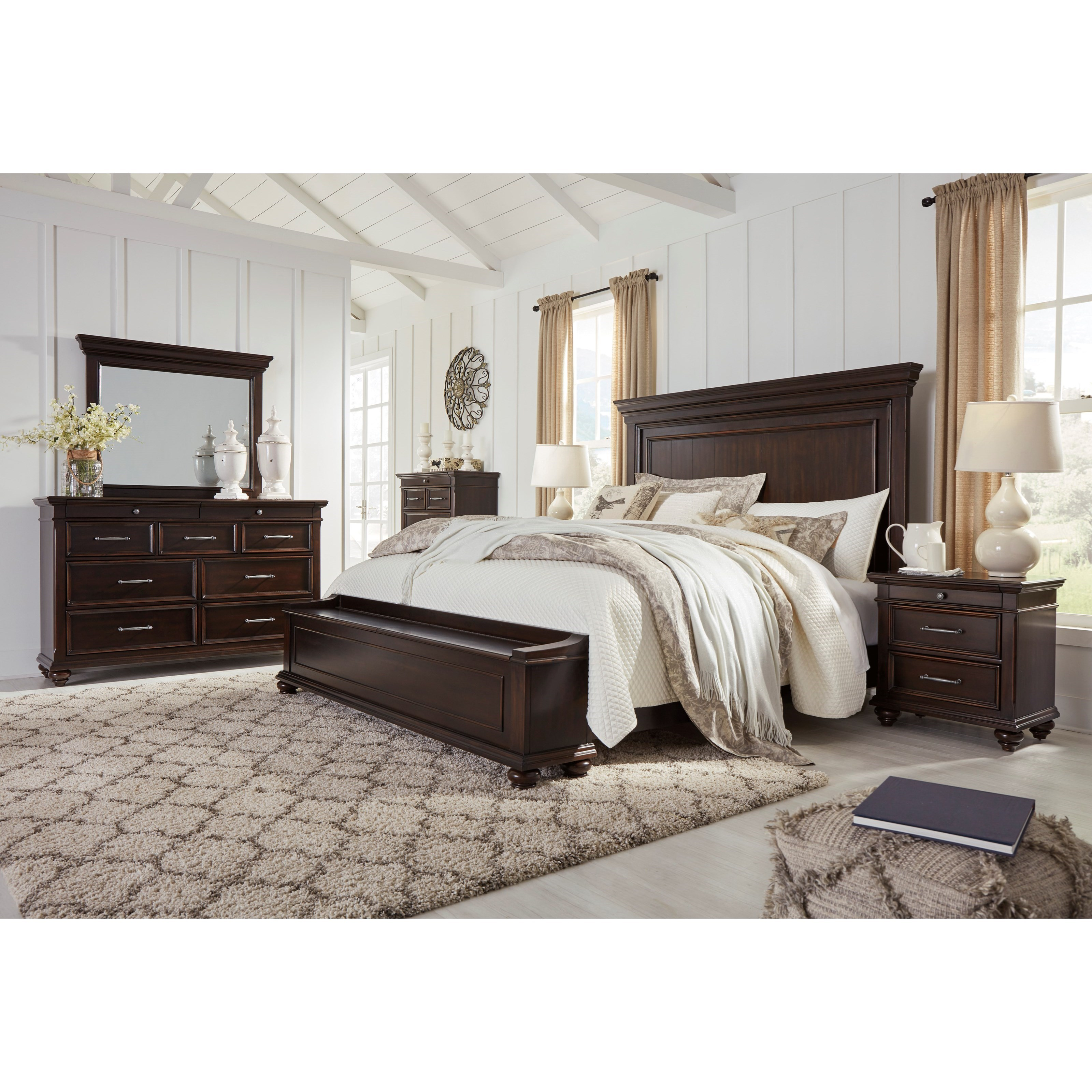 California king bedroom group by signature design by - California king bedroom furniture ...