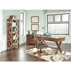 Signature Design by Ashley Burkesville 4 Piece Home Office Set