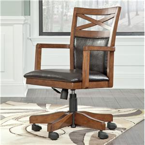 Signature Design by Ashley Burkesville Home Office Desk Chair