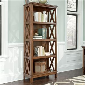 Signature Design by Ashley Furniture Burkesville Large Bookcase