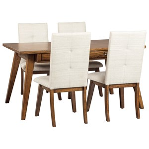 5-Piece Rectangular Dining Room Set