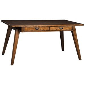 Rectangular Dining Room Table with Built-In Storage