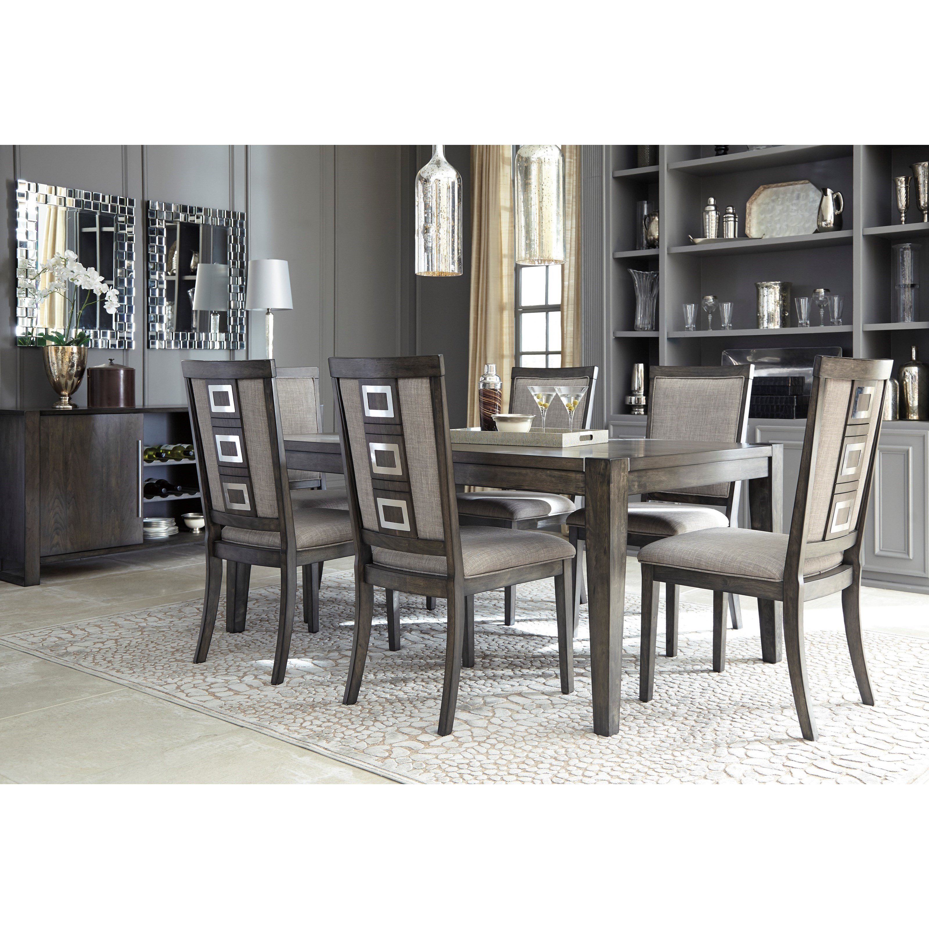 Formal Dining Room Group By Signature Design By Ashley Wolf And