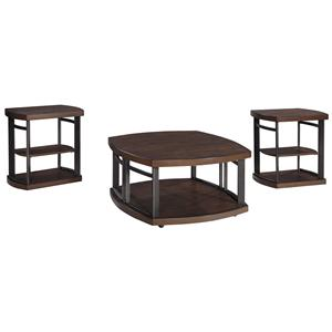 Signature Design by Ashley Challiman Occasional Table Set