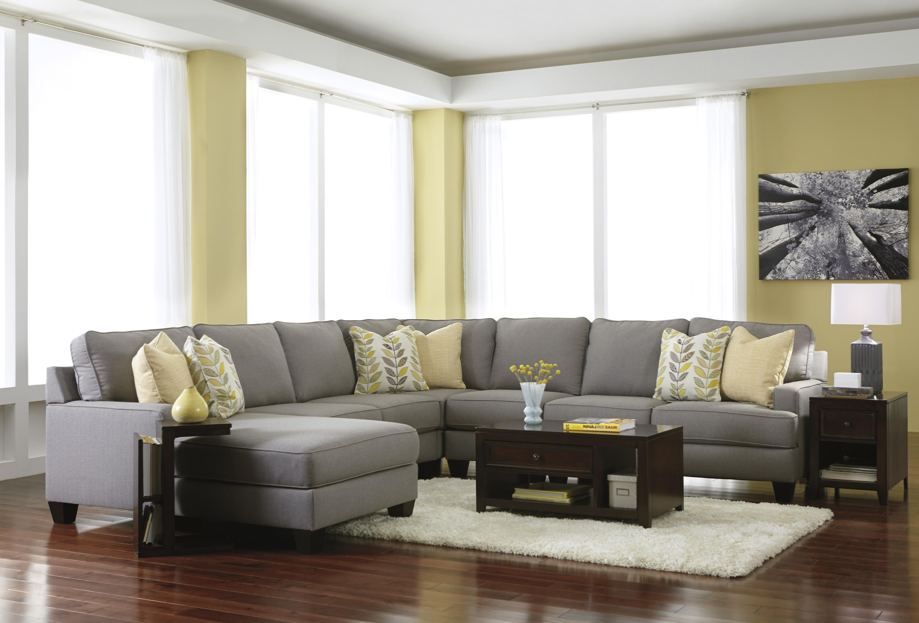 5 Piece Sectional Sofa With Left Chaise