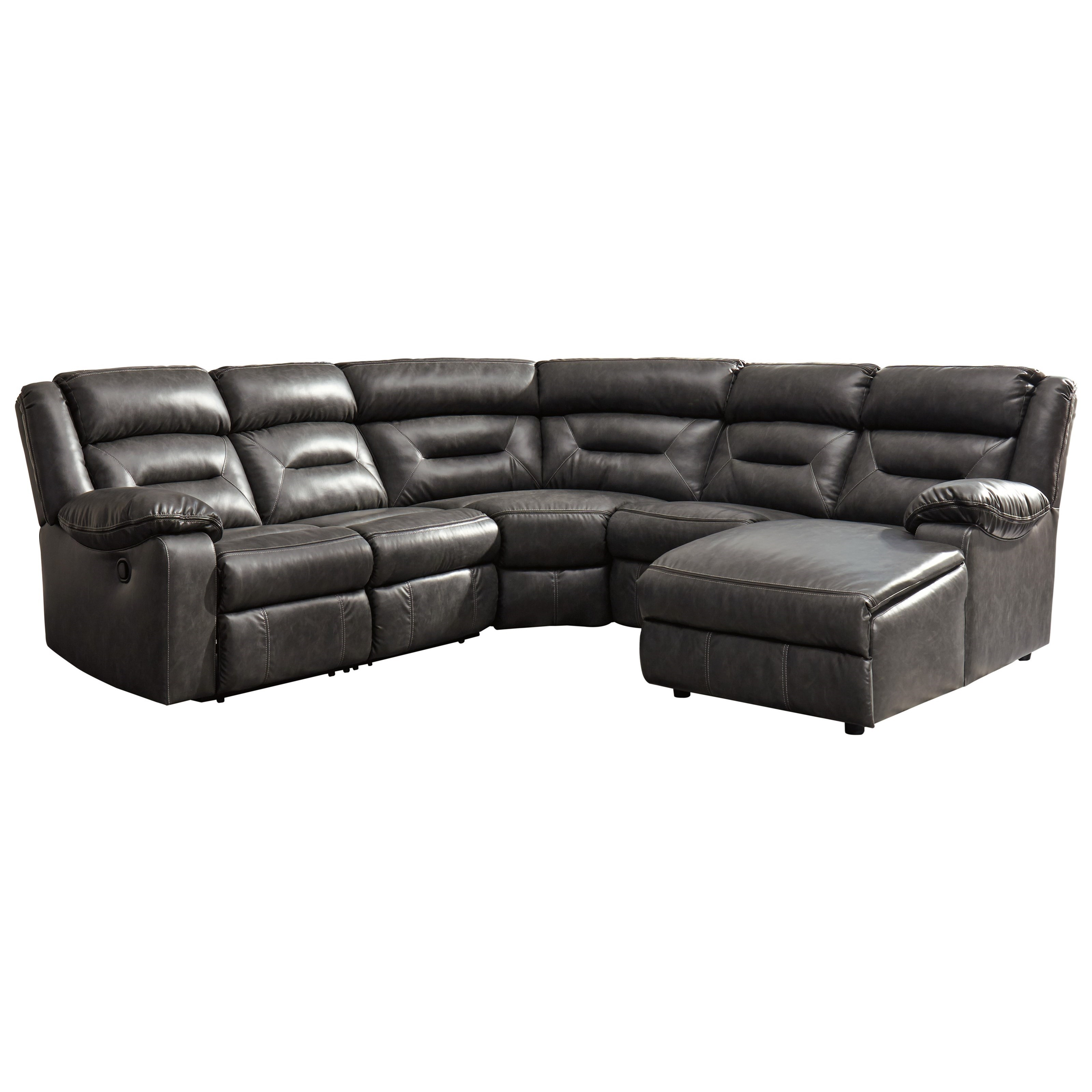 5-Piece Sectional with Chaise by Signature Design by Ashley ...