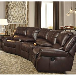 Signature Design by Ashley Collinsville 5-Piece Power Recline Theater Seating Group
