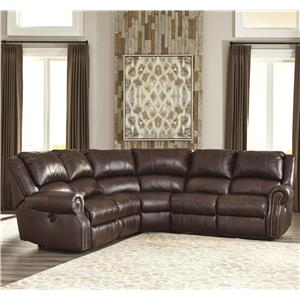 Signature Design by Ashley Collinsville 5-Piece Reclining Sectional