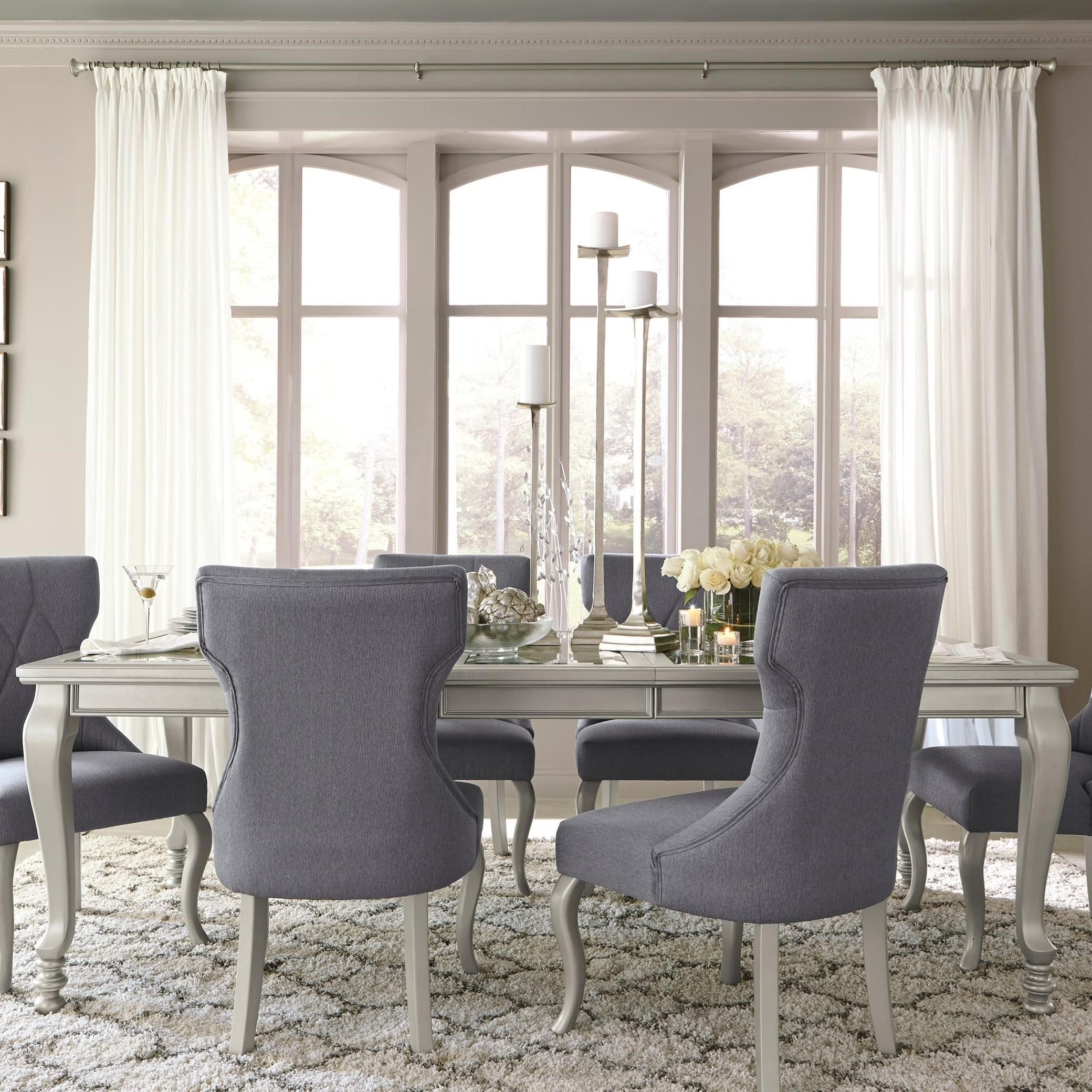 5 Piece Dining Room Sets Amazon Com: 5-Piece Rectangular Dining Room Extension Table Set By