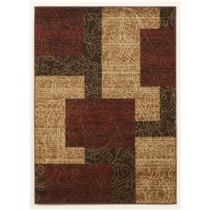 Signature Design by Ashley Furniture Cottage Area Rugs Rosemont - Red Medium Rug