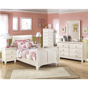 Signature Design by Ashley Furniture Cottage Retreat Twin Bedroom Group