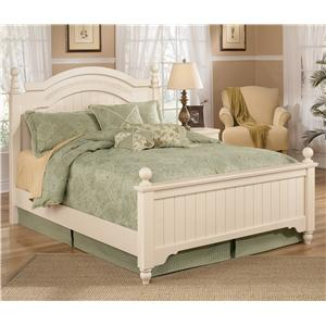 Signature Design by Ashley Furniture Cottage Retreat Queen Size Poster Bed