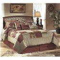 Signature Design by Ashley Timberline Full/Queen Headboard - Item Number: B258-55
