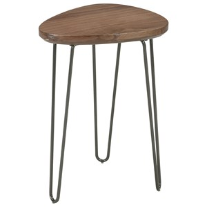 Chair Side End Table with Hairpin Legs
