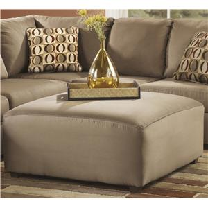 Signature Design by Ashley Cowan - Mocha Oversized Accent Ottoman