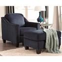 Chair & Ottoman Set