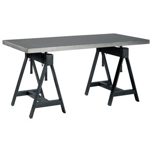 Adjustable Rectangular Dining Room Table