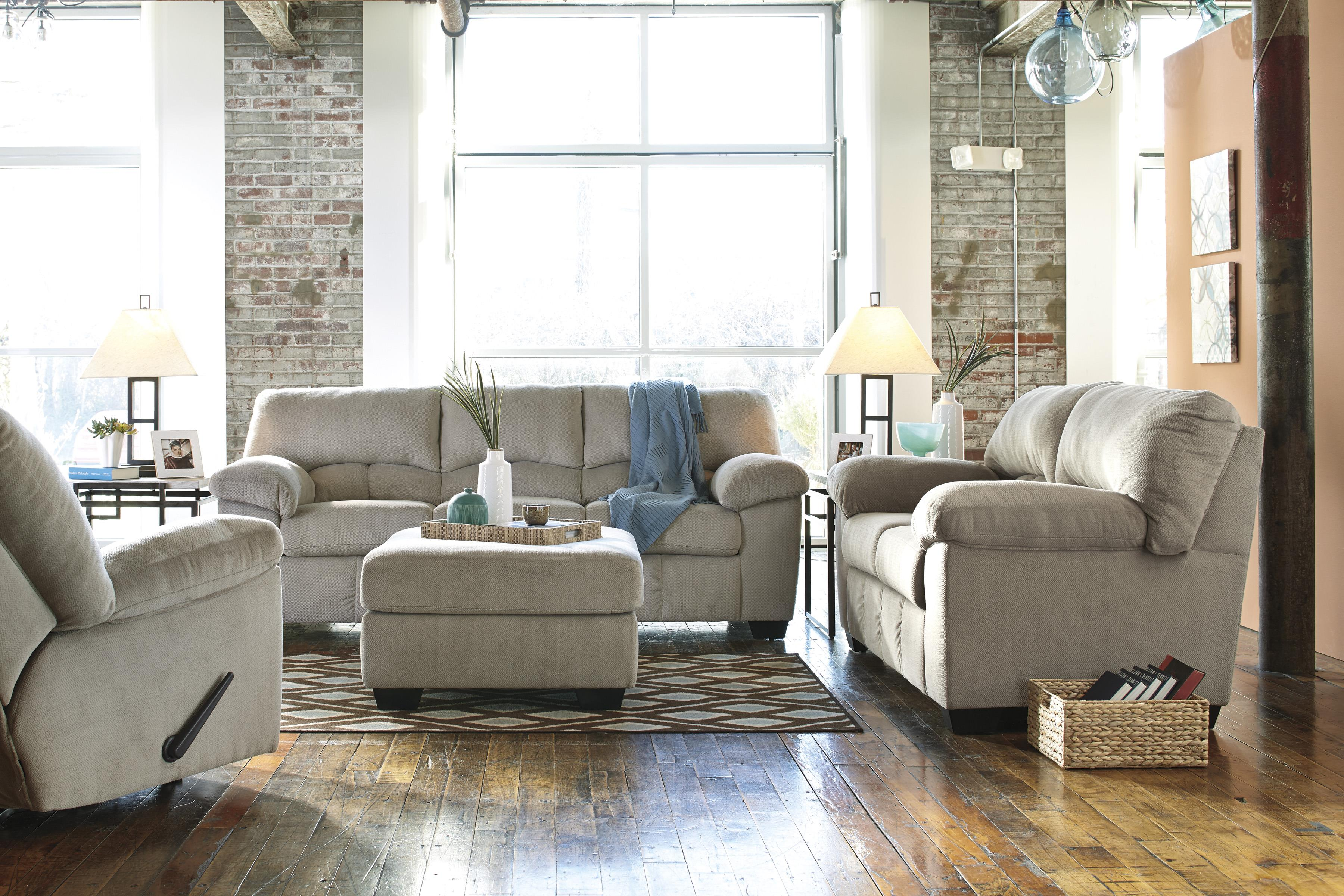 Casual Contemporary Sofa