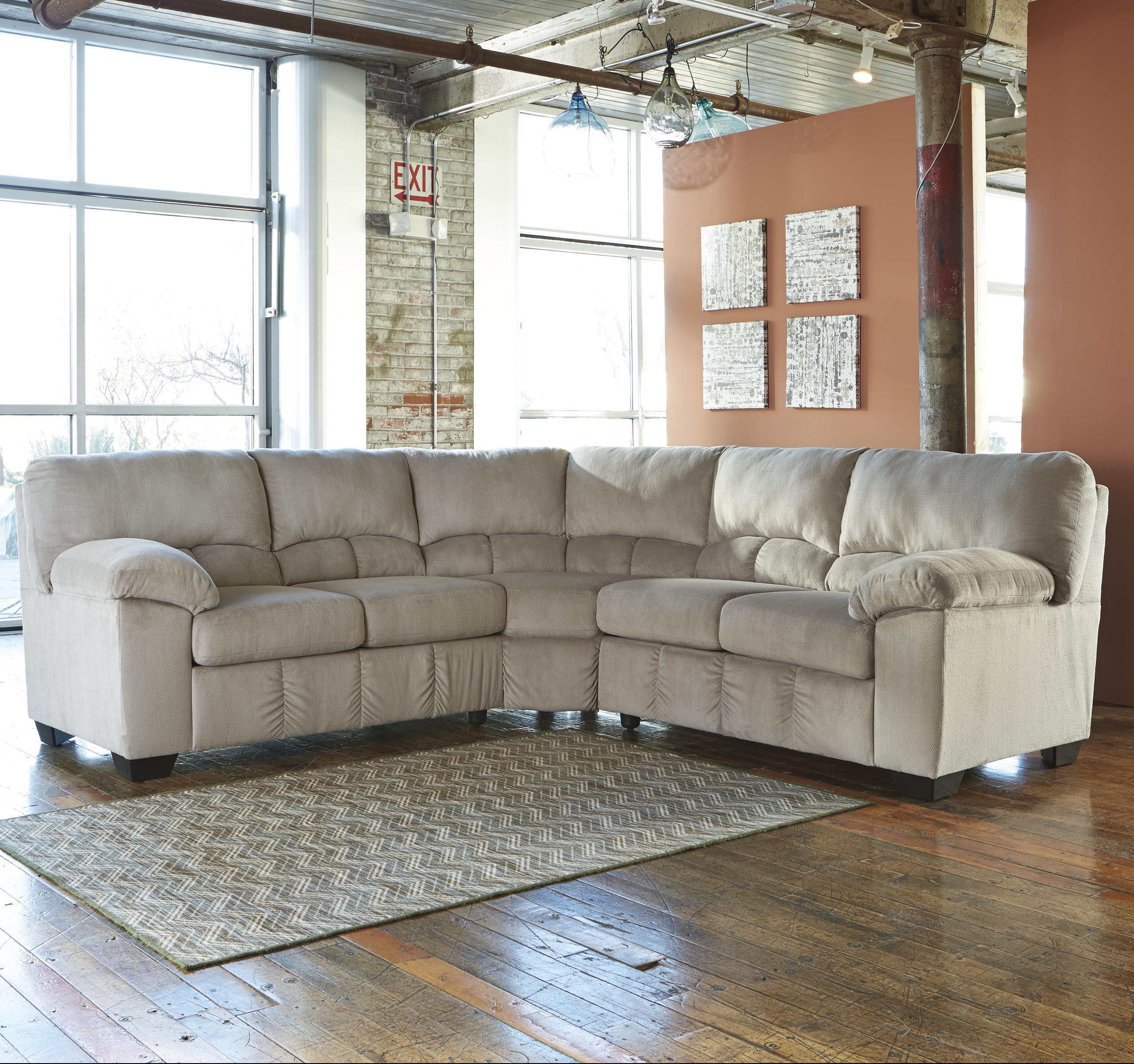 Beautiful Casual Contemporary Corner Sectional