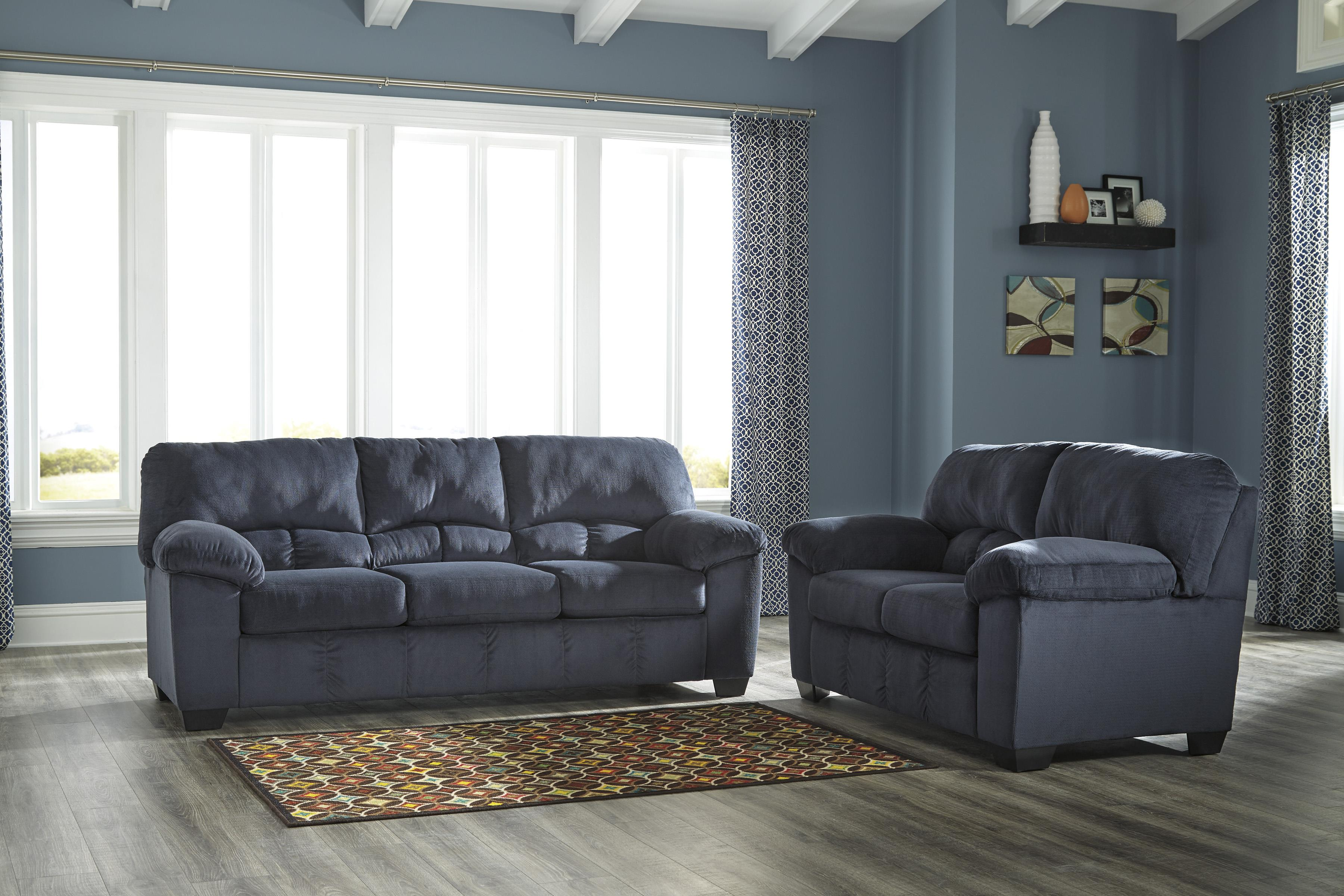 Casual Contemporary Full Sofa Sleeper by Signature Design by ...