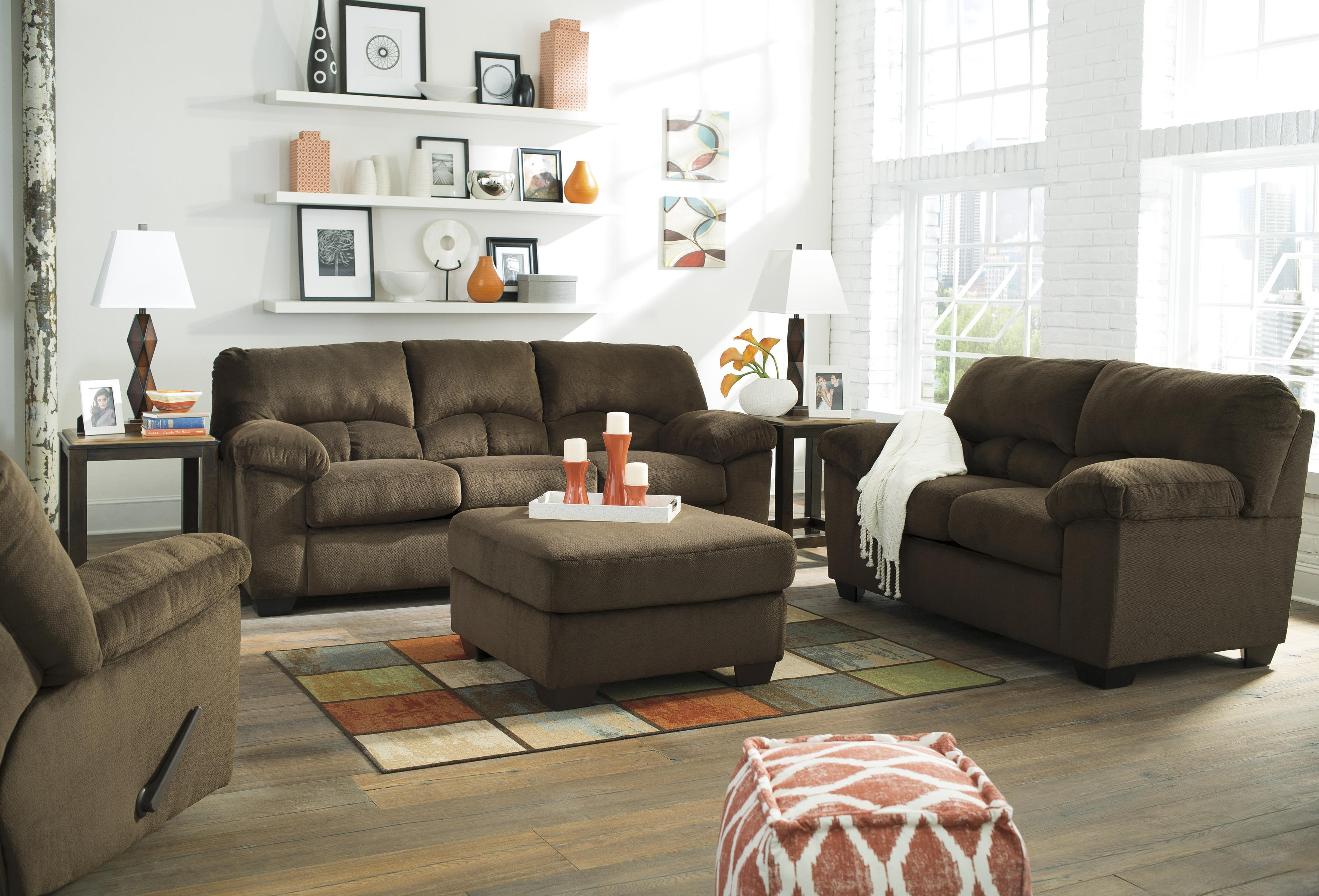 Casual Contemporary Full Sofa Sleeper by Signature Design by