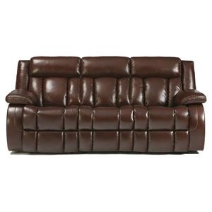 Signature Design by Ashley Dainan - Chestnut Reclining Power Sofa