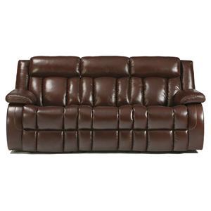 Signature Design by Ashley Dainan - Chestnut Reclining Sofa