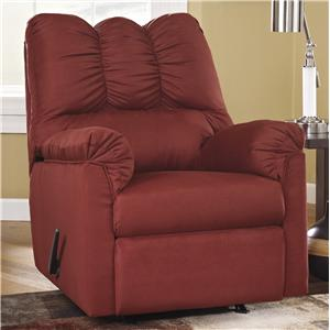 Signature Design by Ashley Furniture Darcy - Salsa Rocker Recliner