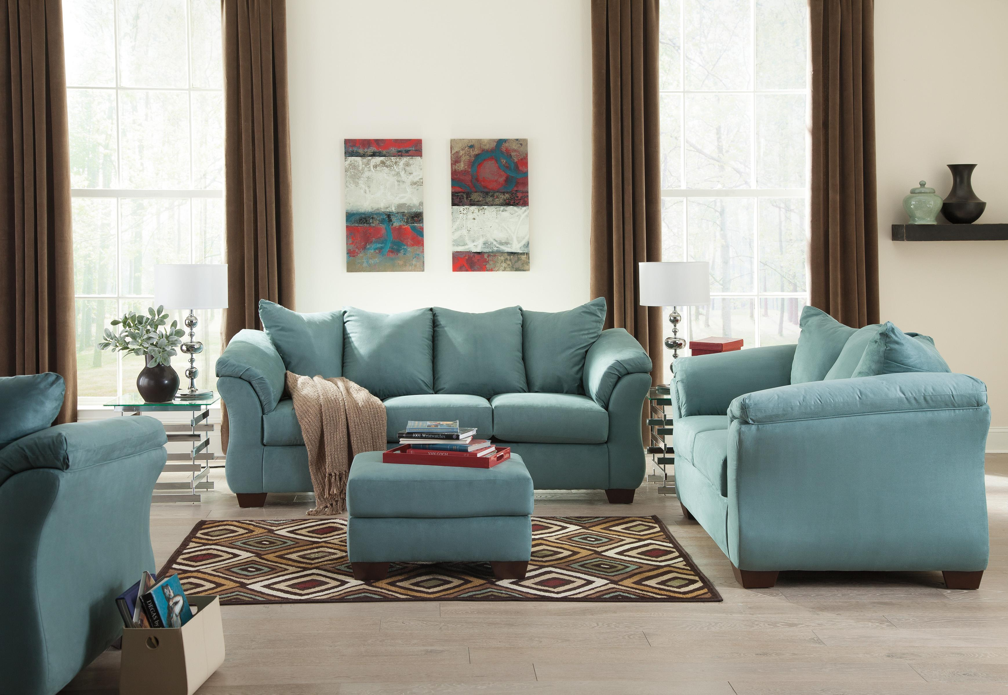 Stationary Living Room Group By Signature Design By Ashley Wolf