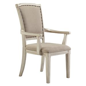 Signature Design by Ashley Demarlos Dining Upholstered Arm Chair