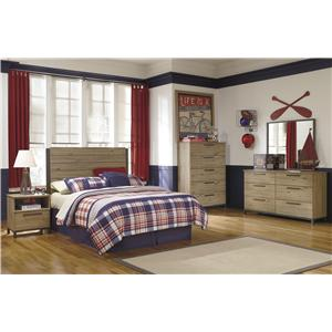 Signature Design by Ashley Dexifield 4-PC Full Bedroom