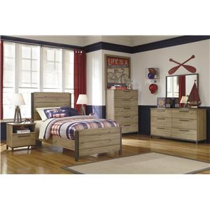 Signature Design by Ashley Dexifield 4-PC Twin Bedroom
